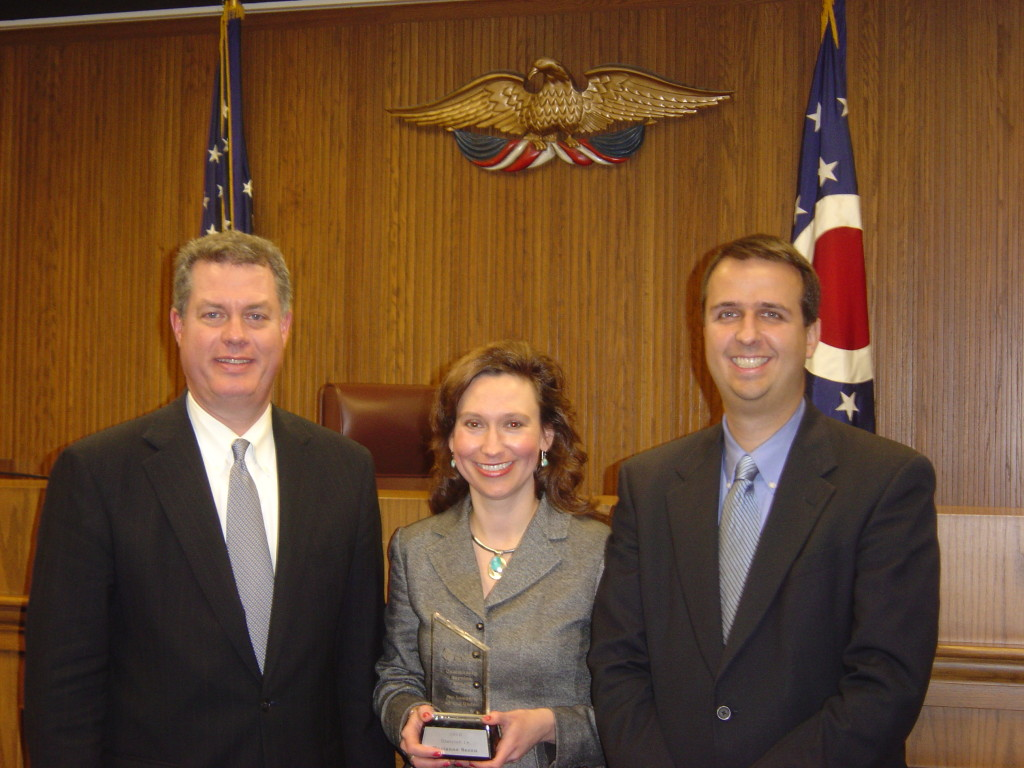 17  Ohio State Bar Foundation - Community Service Award Under 40 - '07
