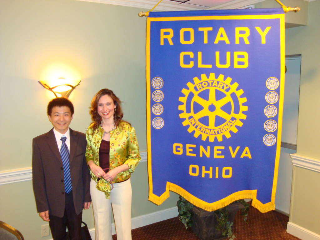 97 With Henry Chang - Exchange Student that we hosted with Geneva Rotary