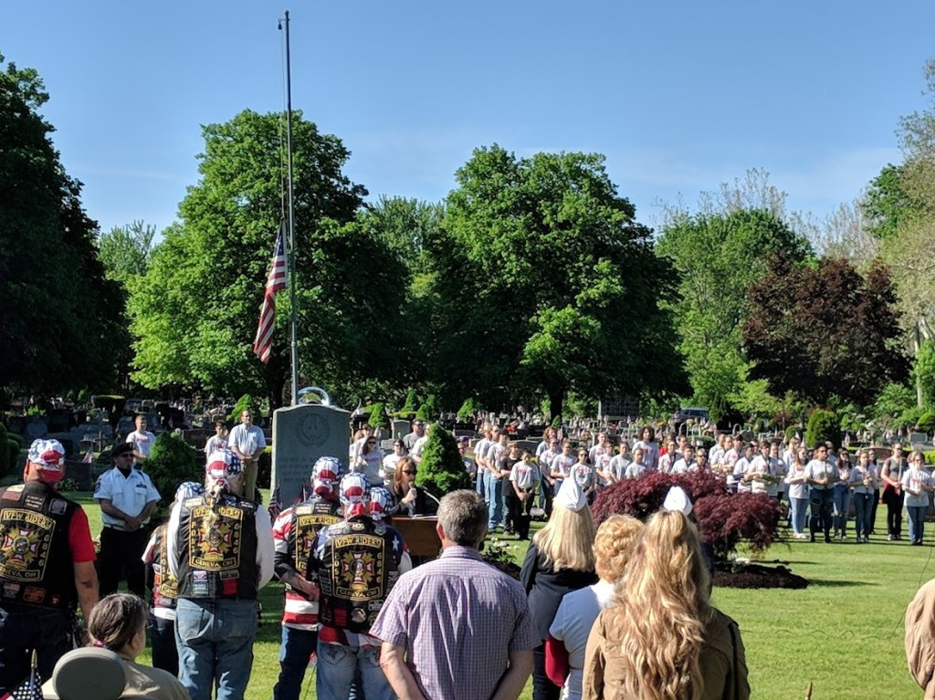 Marianne Sezon Speaking at Geneva Ohio - Memorial Day